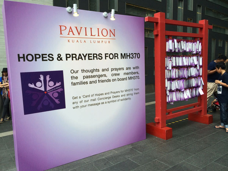 Prayers for MH370