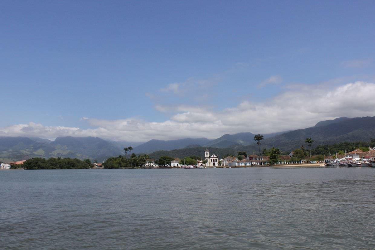 Paraty from the water