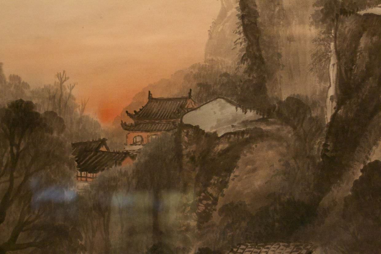 Classic Chinese artwork on show in the Shanghai museum