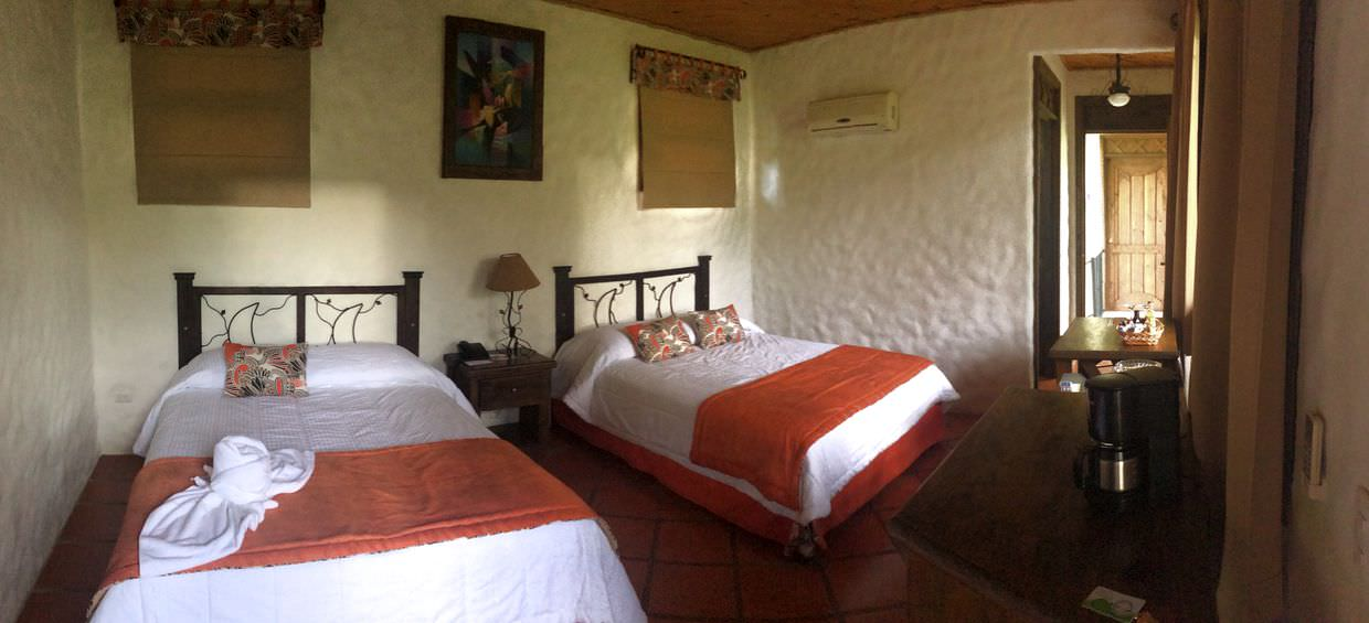 Our room at Casa Luna