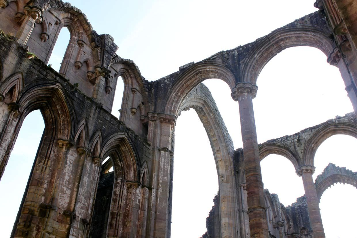 Remains of Fountains Abbey