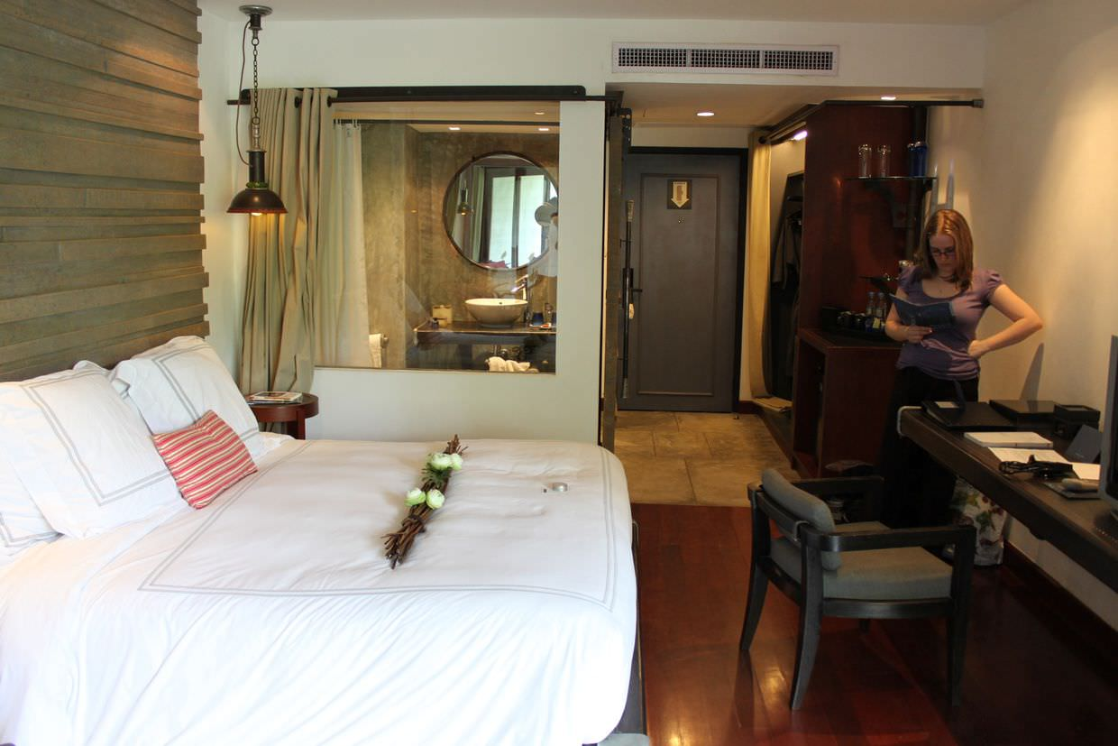Our room at Indigo Pearl