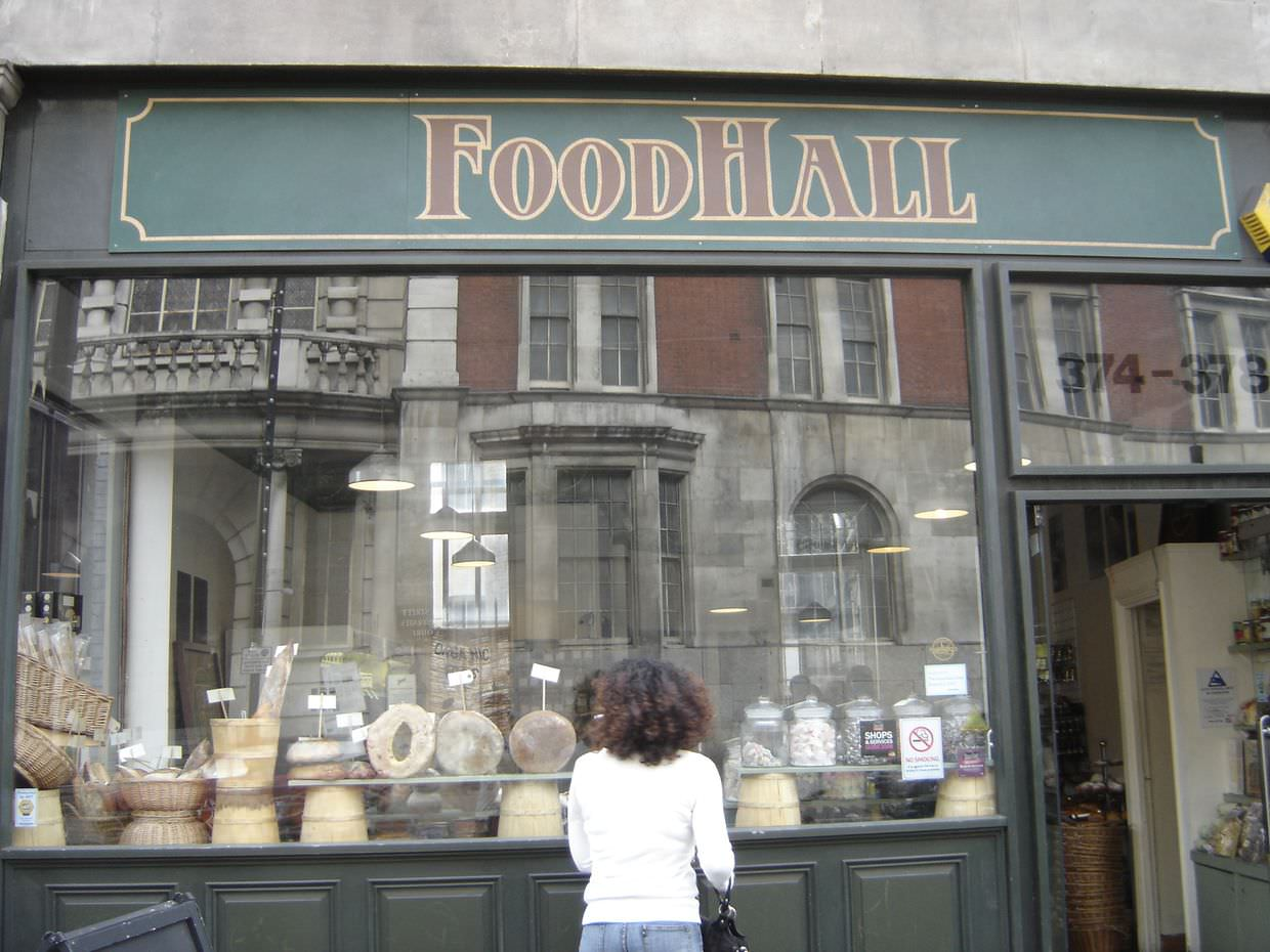 Foodhall, we love this place