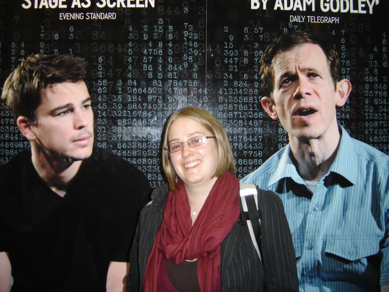 Rain Man at the west end, with Josh Hartnett and Adam Godley