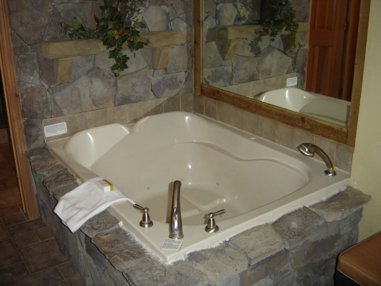 And a jacuzzi too