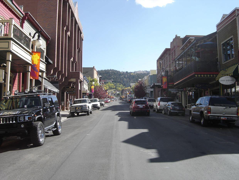 Park City's main street