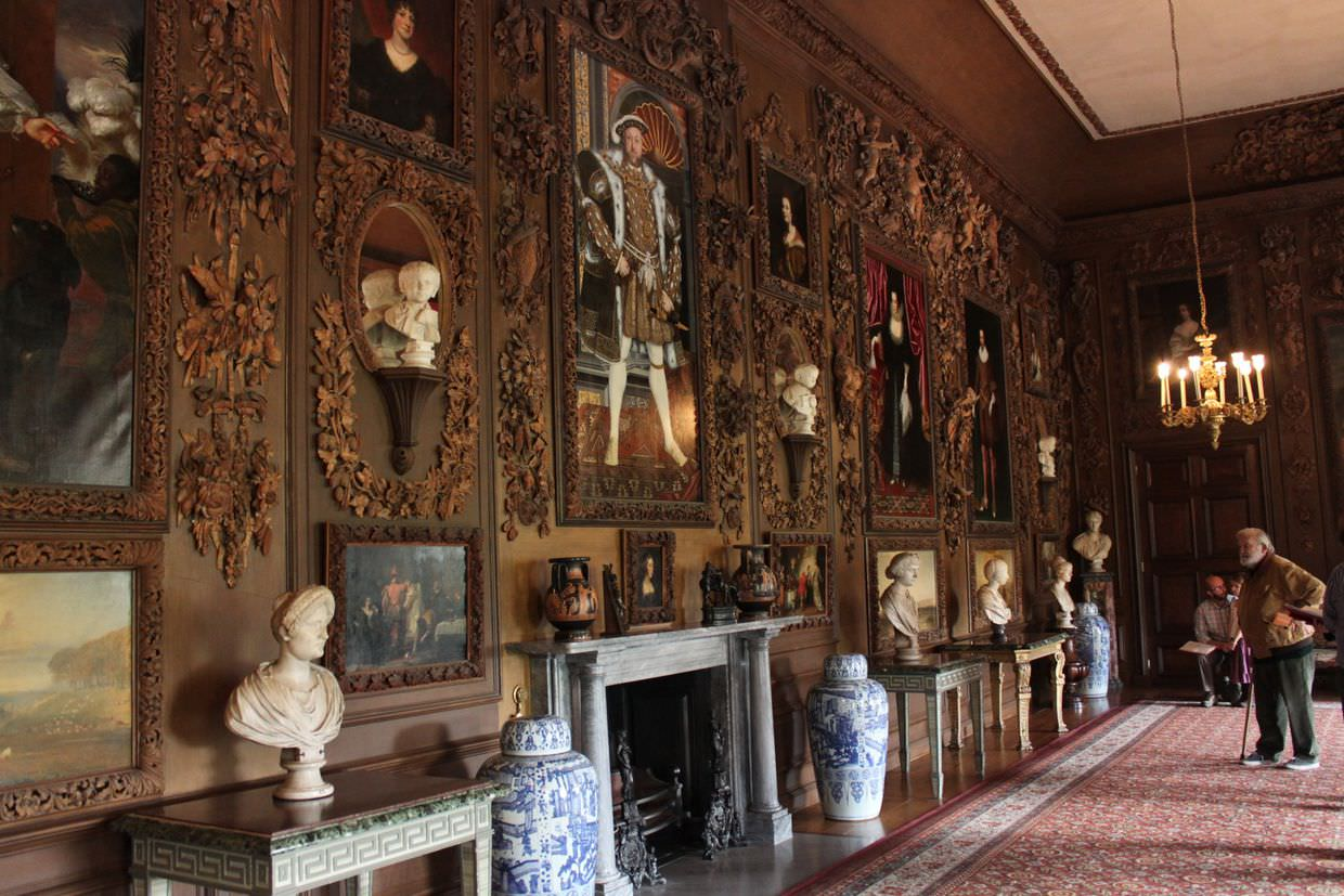 """""""Carved room"""" in Petworth house"""