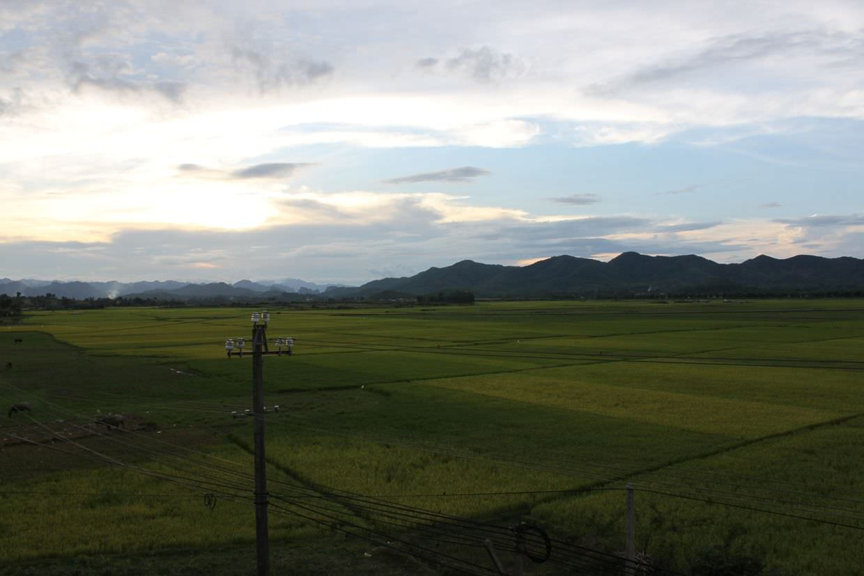 View from Phong Nha farmstay