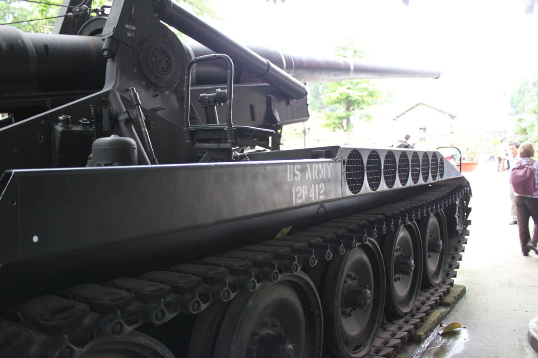 A US tank