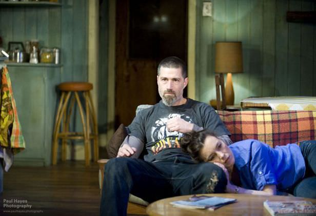 """Matthew Fox and Olivia Williams in, """"In a forest dark and deep"""""""