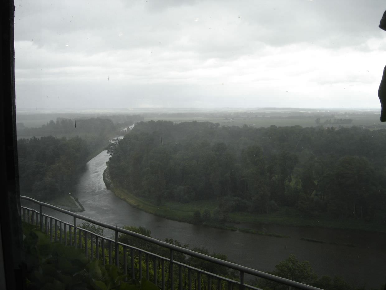 Melnik in the rain