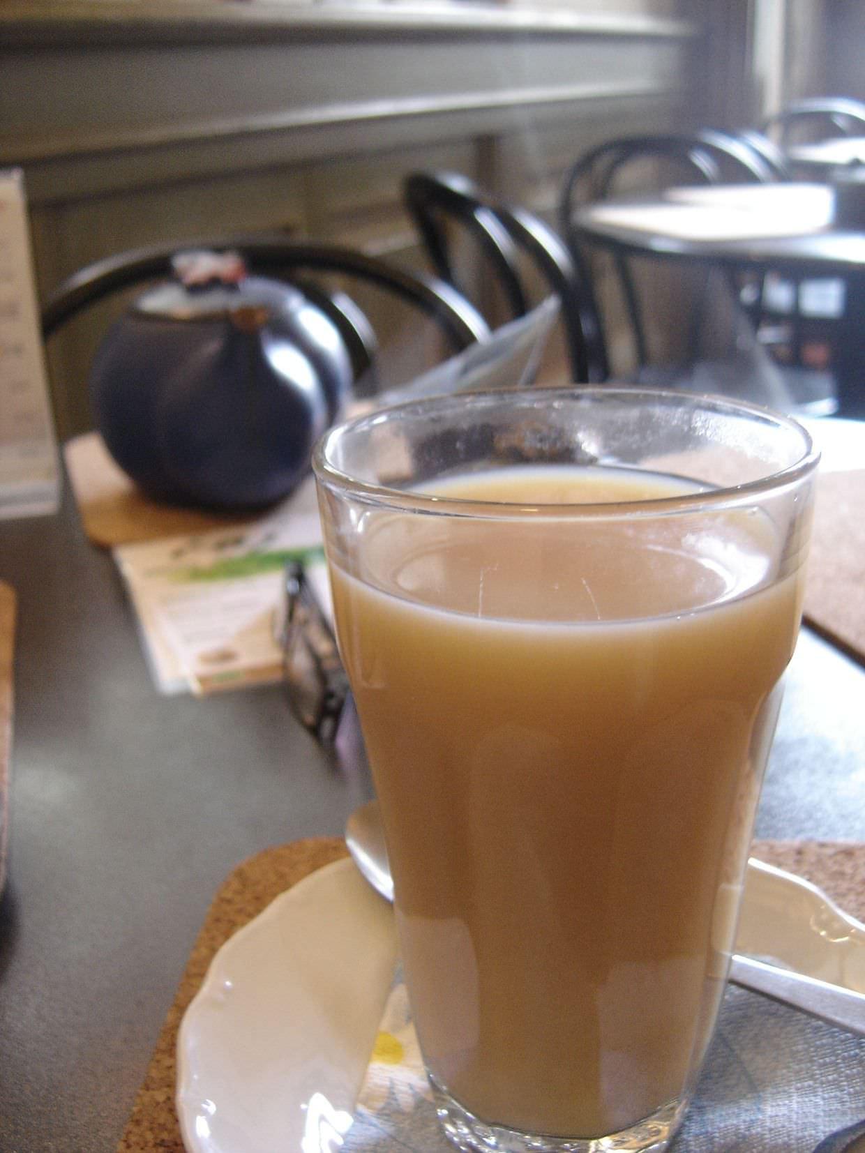 Smoked moldovian tea at U Zeleneho Yaje