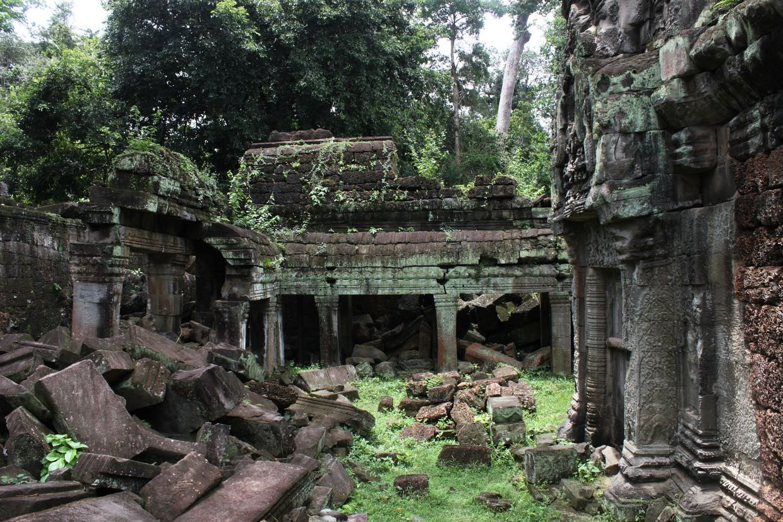 Secret rooms at Preah Khan