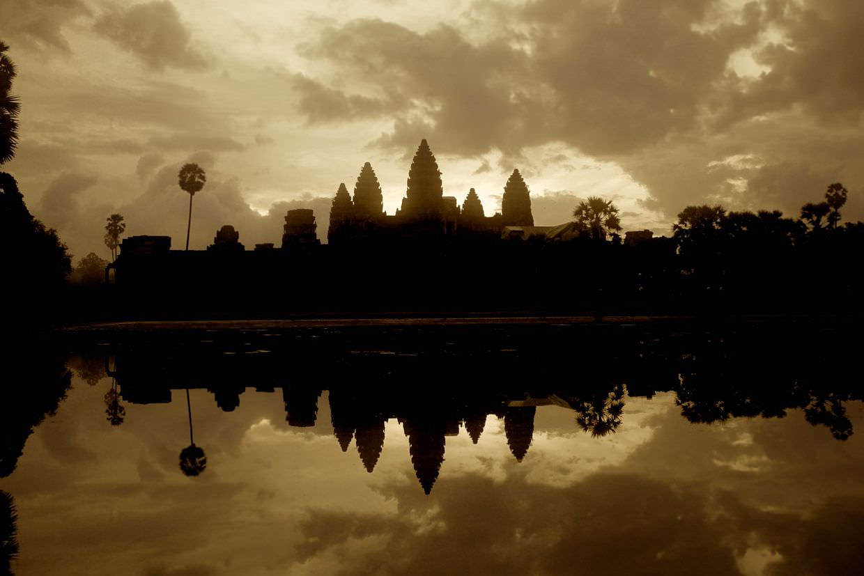Angkor Wat, at dawn