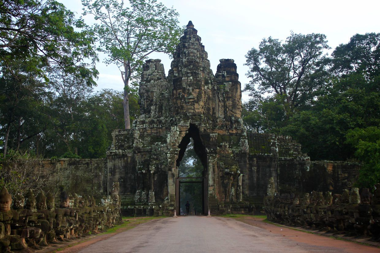 The South Gate, Angkor Thom