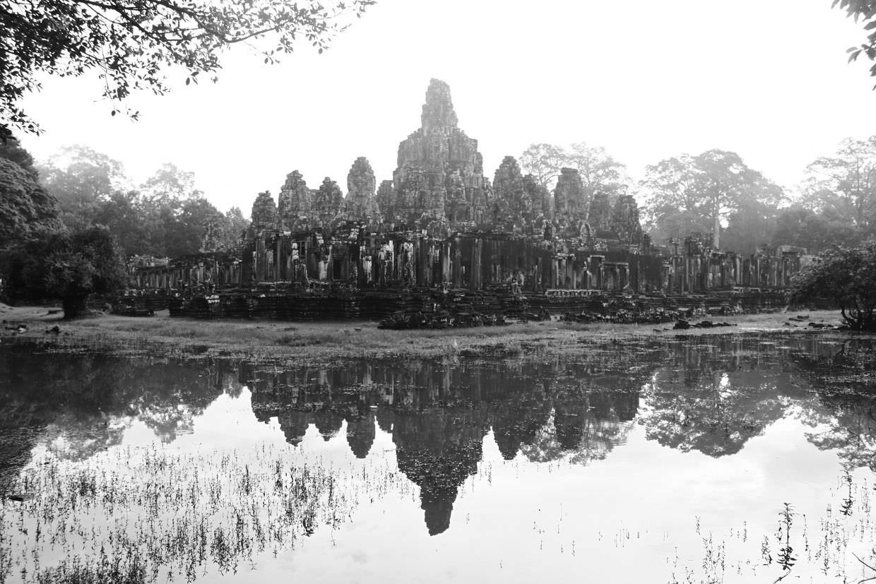 The magnificent, mysterious Bayon temple