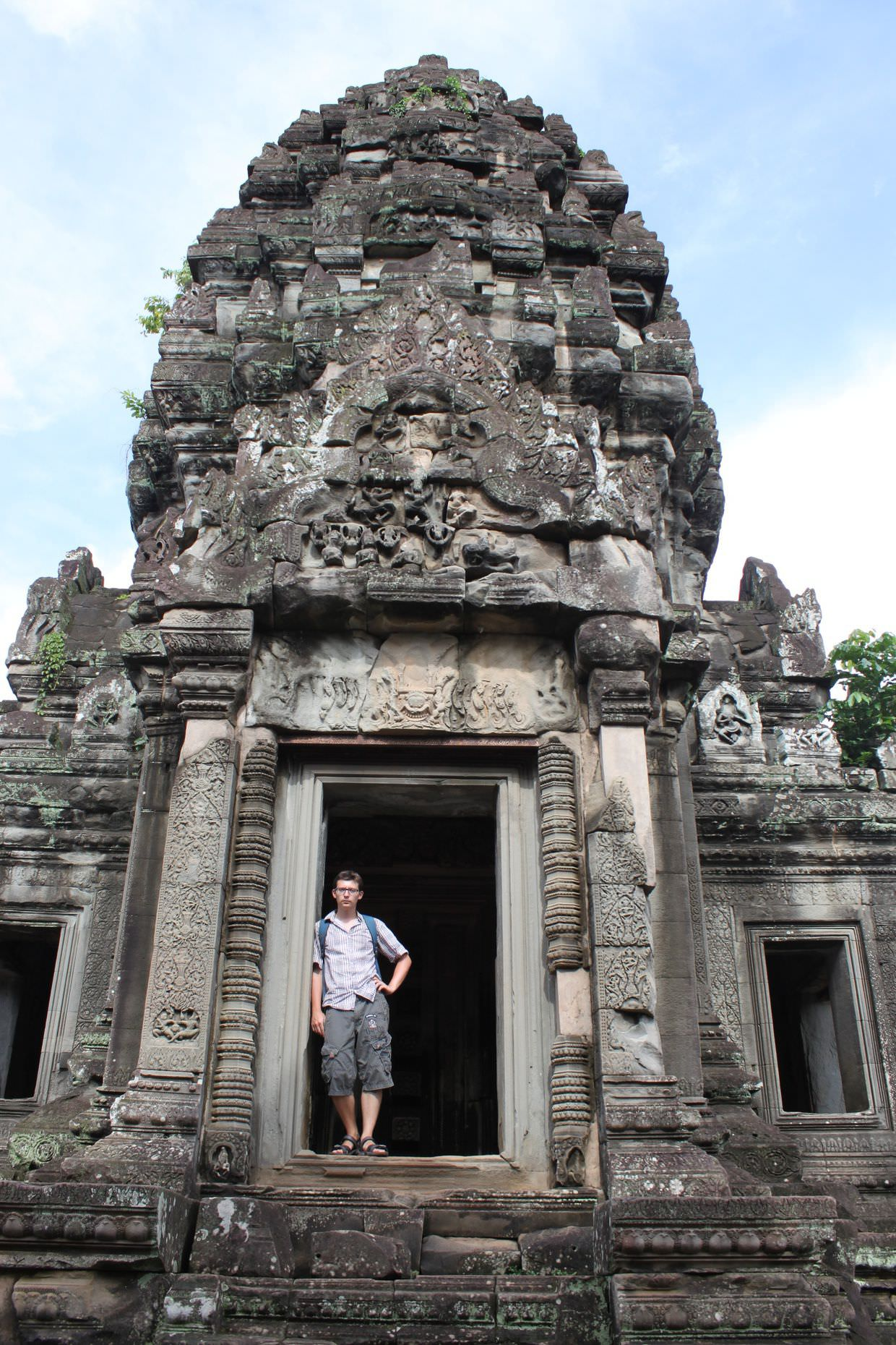 Paul at Banteay Samre