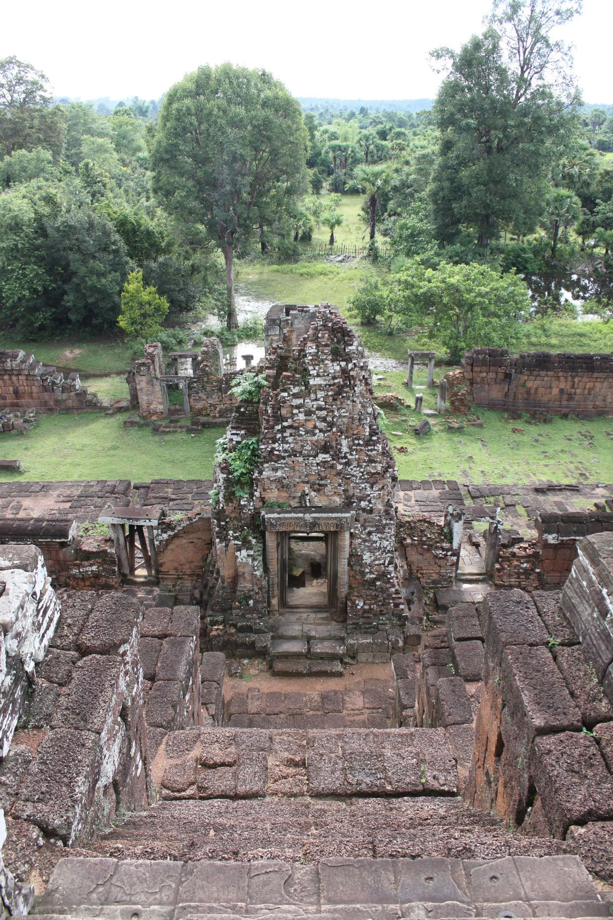 A view from the top of Pre Rup