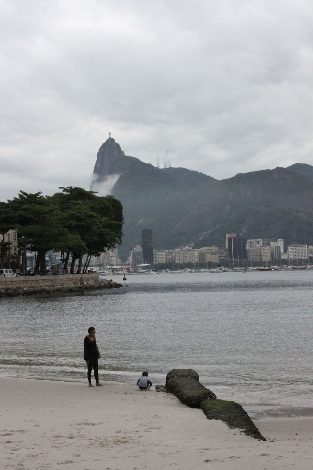 View of Christ the Redeemer from Urca