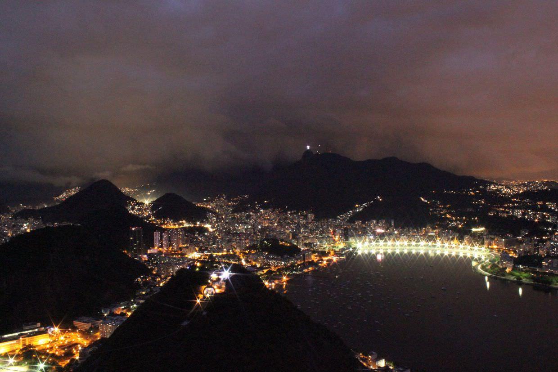 Storm over Rio