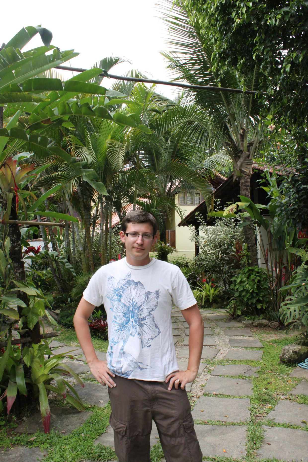 Paul before leaving Paraty