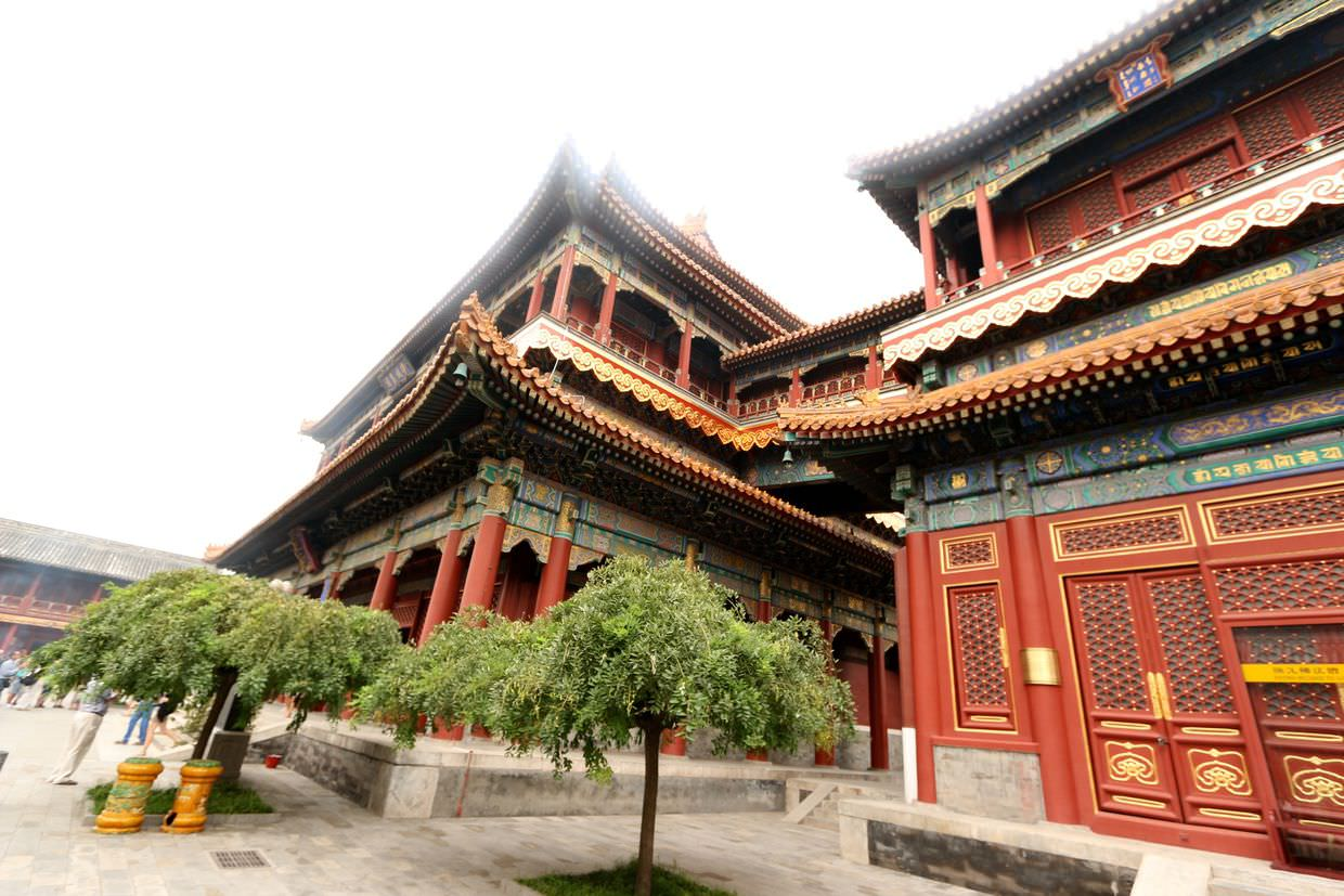 Lama temple's Pavilion of Ten Thousand Happinesses