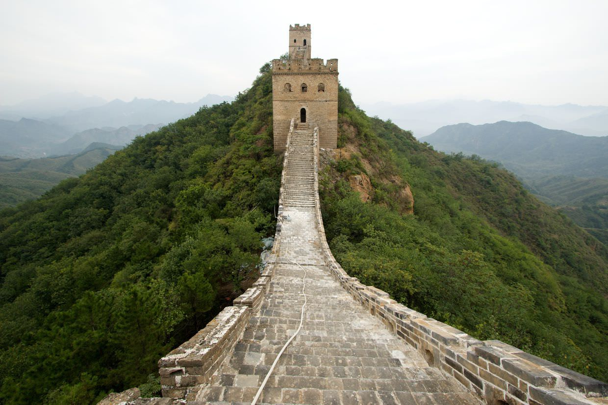 "The Great Wall's ""East tower with five holes"""
