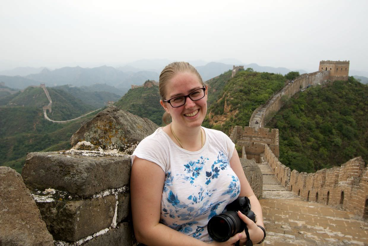 Samantha on The Great Wall
