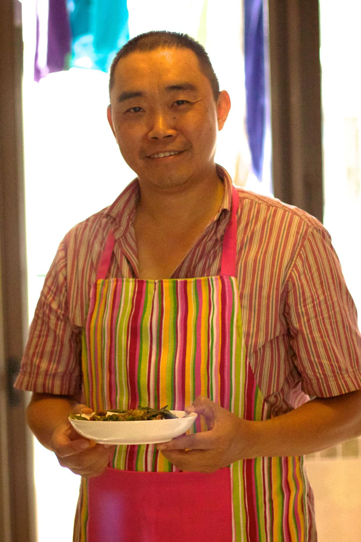 Sam, our chef