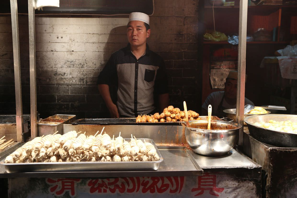 Street vendor in Xi'an