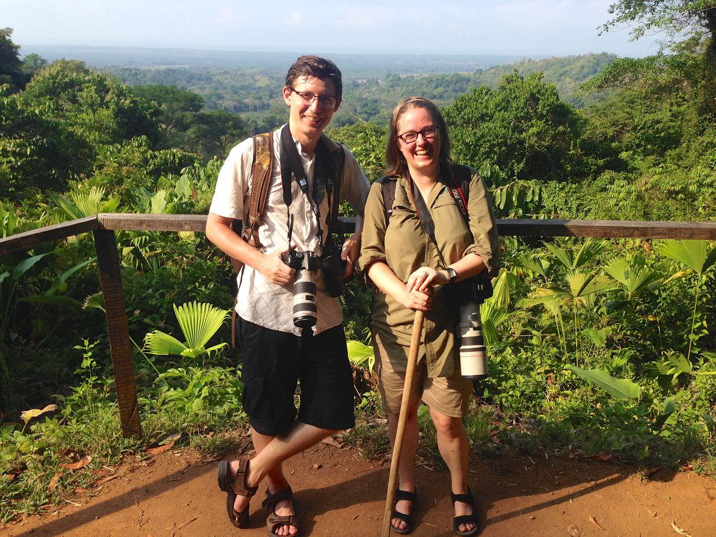 Sam and Paul at viewpoint