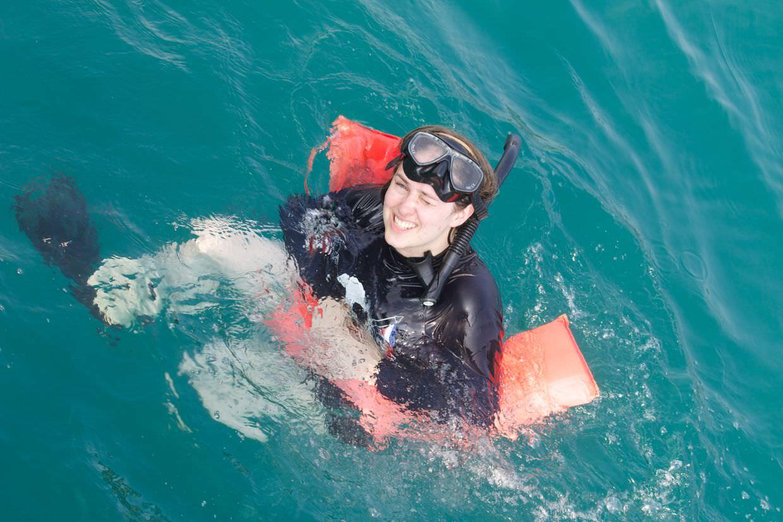 Snorkelling Samantha