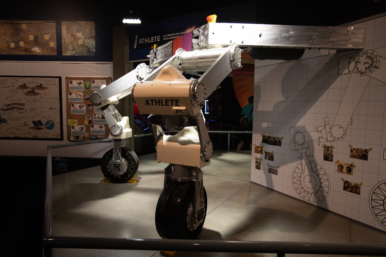 A prototype robot intended for Mars