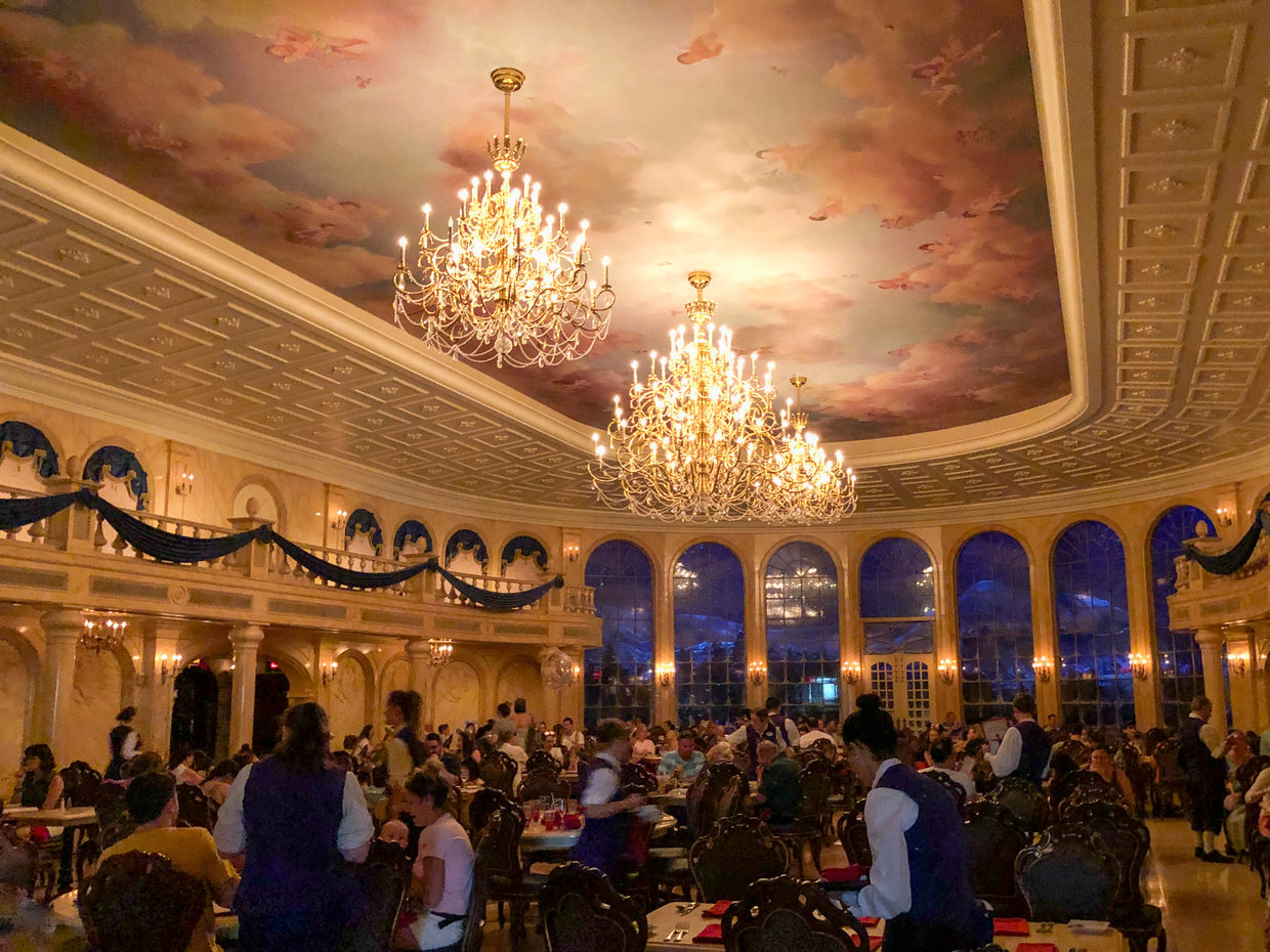 The Be our Guest restaurant