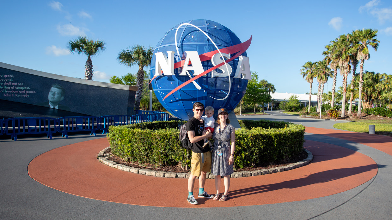A family portrait at NASA