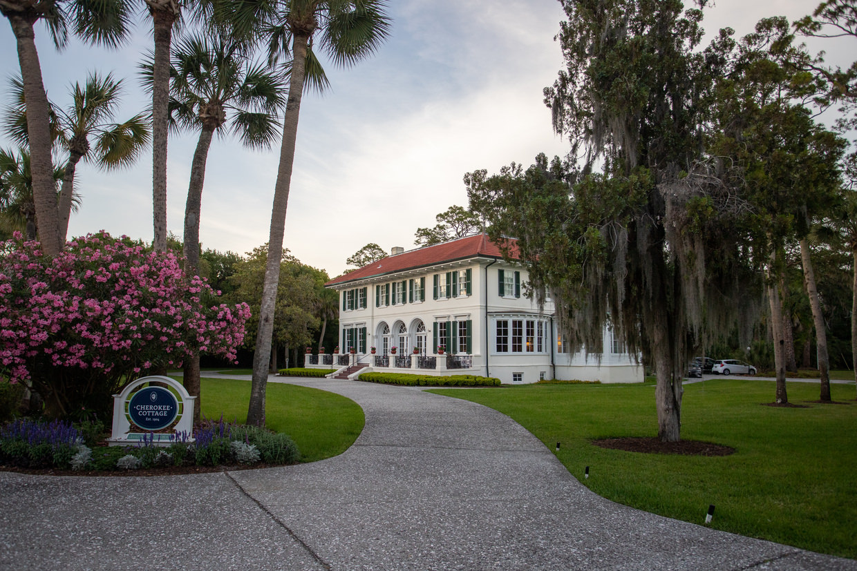 One of the lodges at Jekyll Island Club Resort