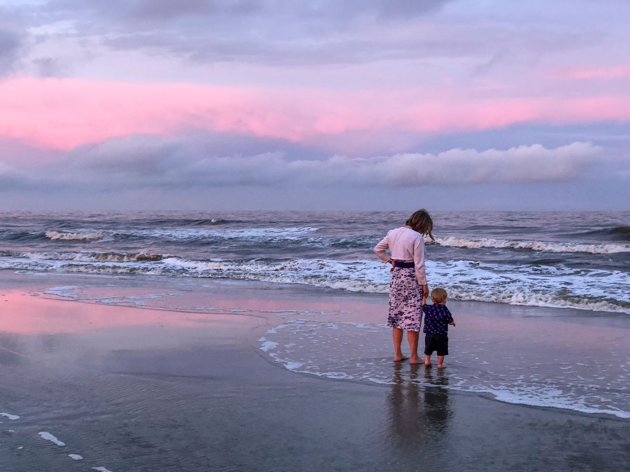 Another sublime sunset on Jekyll Island