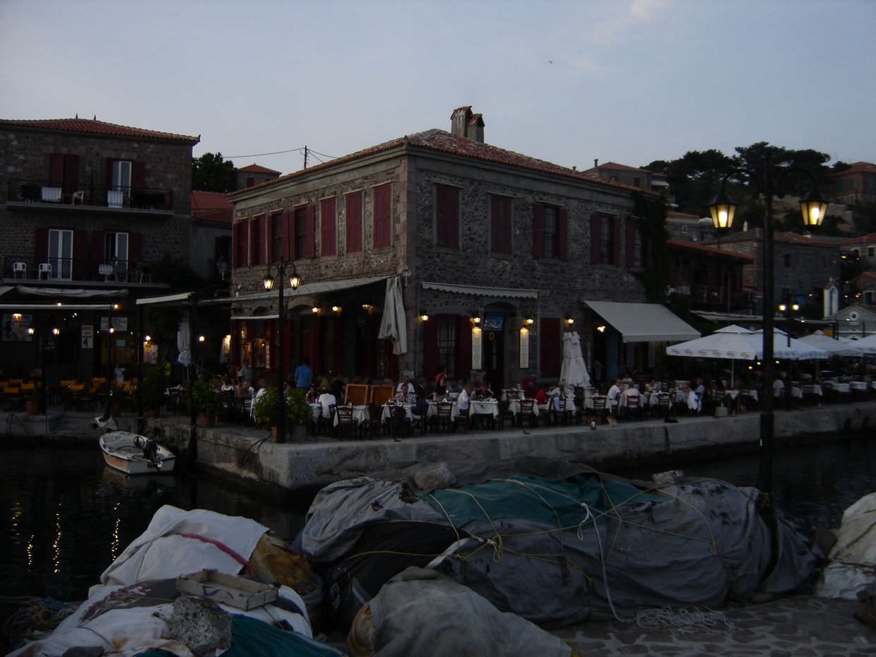The Octopus restaurant, Molyvos
