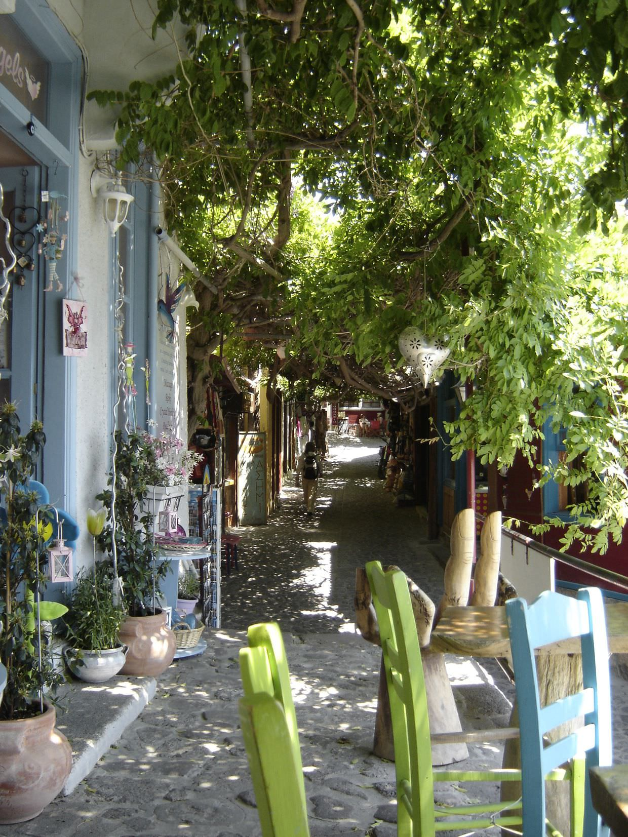 Shopping in Molyvos