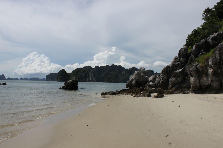 The beach at Thienh Can Son