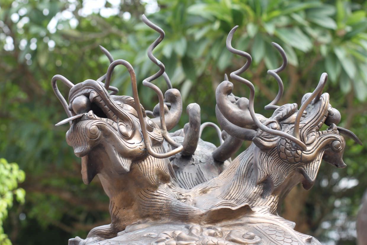 Dragons at the Temple of Literature