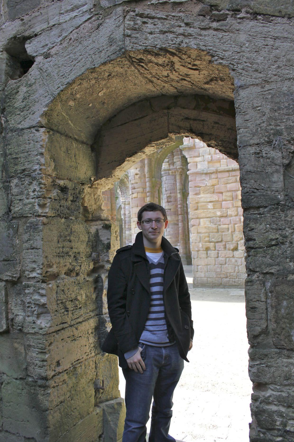 Paul in the doorway