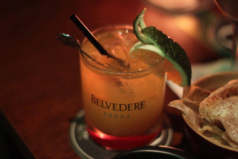 A Saigon Express cocktail at Q Bar