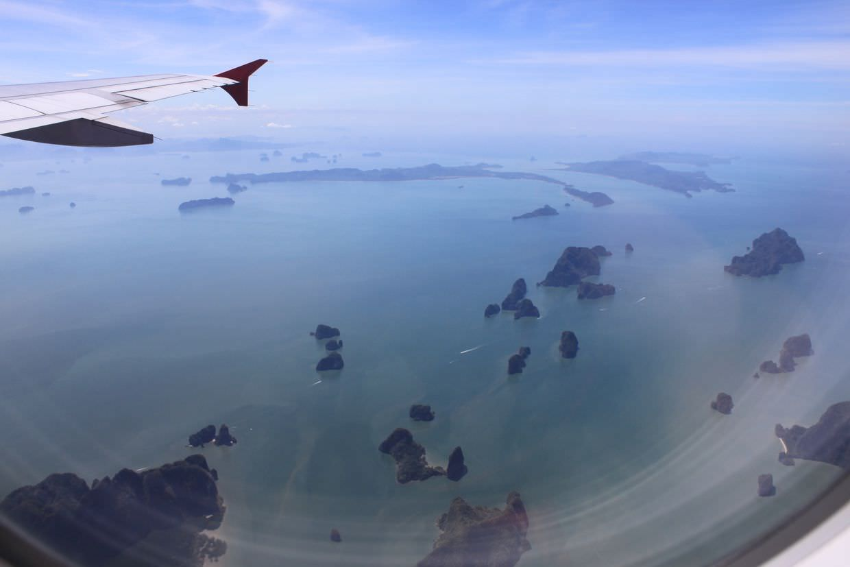 Phang Nga from the sky