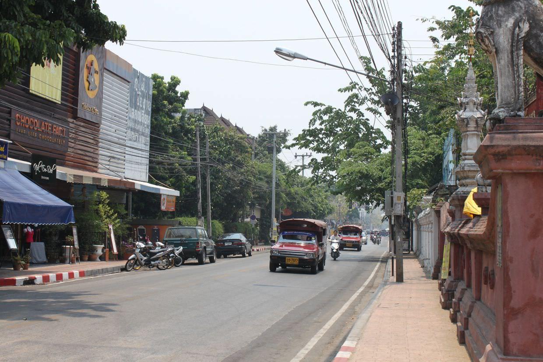Hazy streets of Chiang Mai