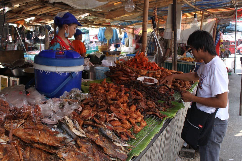 Crispy dried sea-food