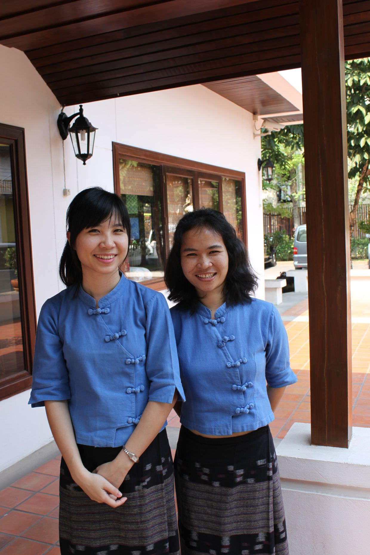 Rimping Village's lovely receptionists