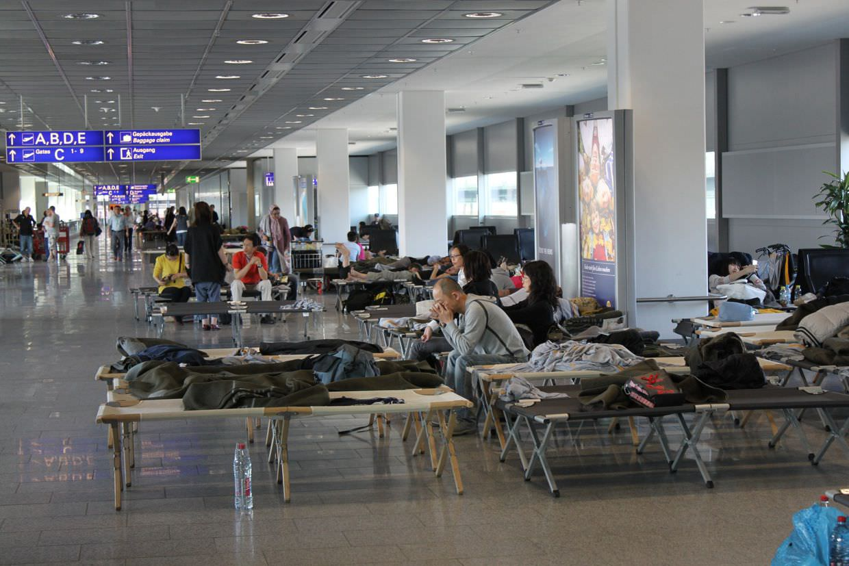 Airport beds