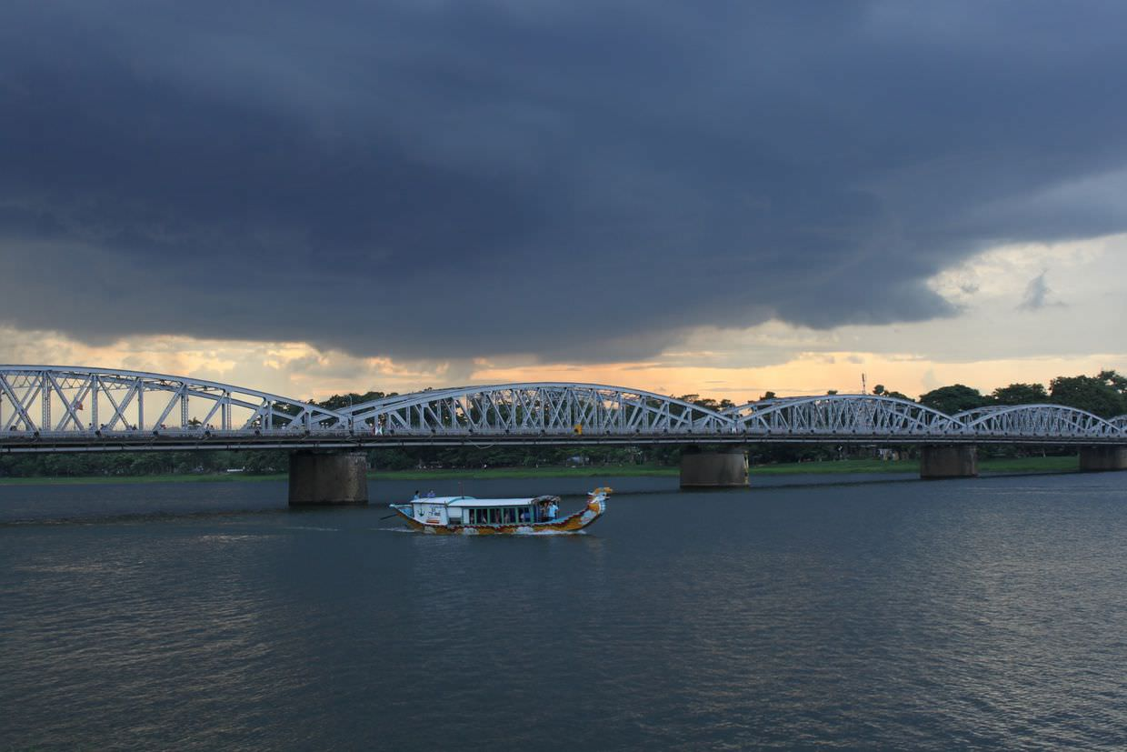 A storm over Perfume River