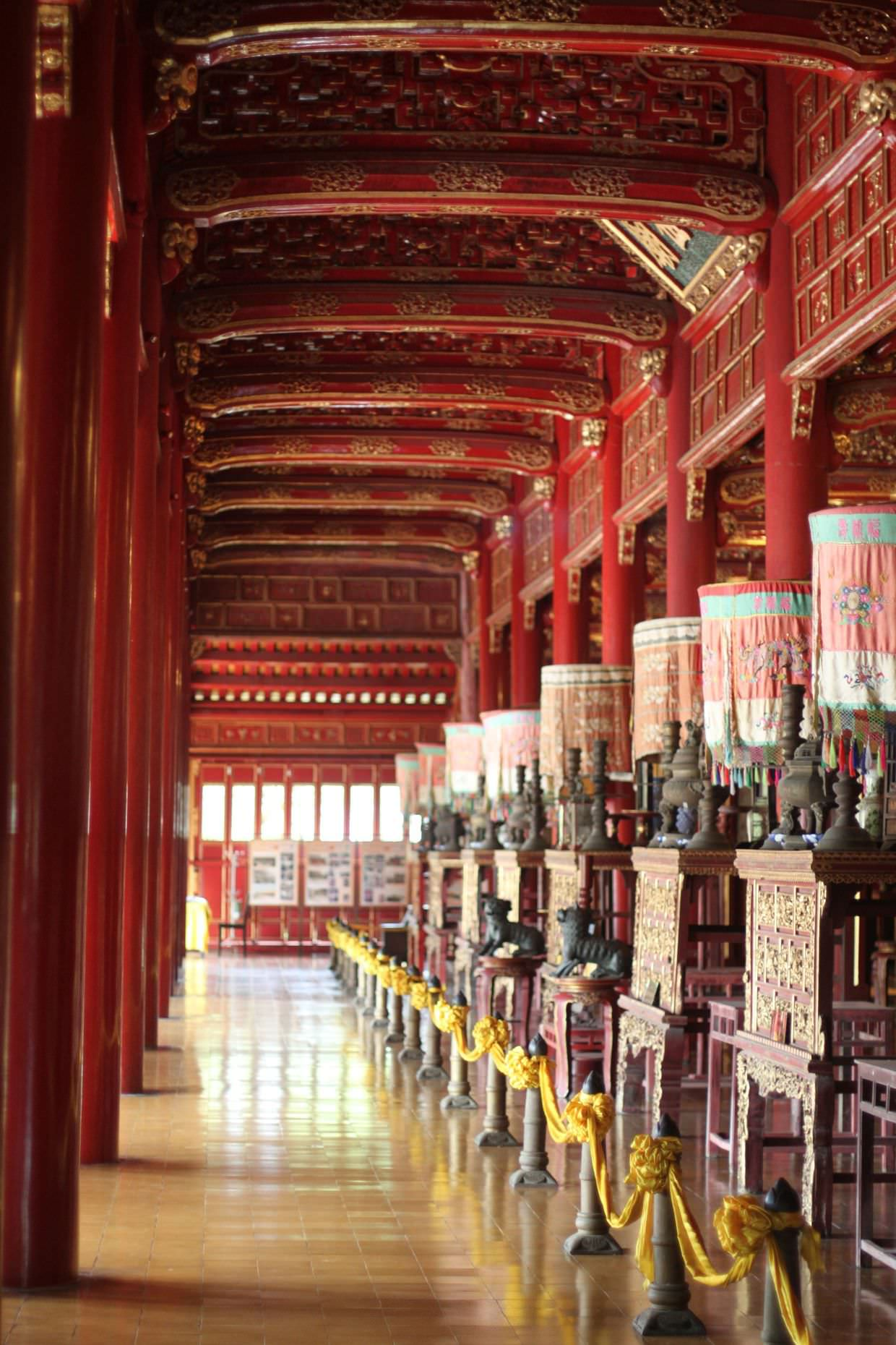 Inside the To Mieu Temple
